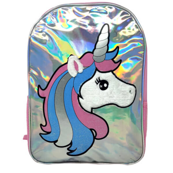 Silver Shine Unicorn Backpack