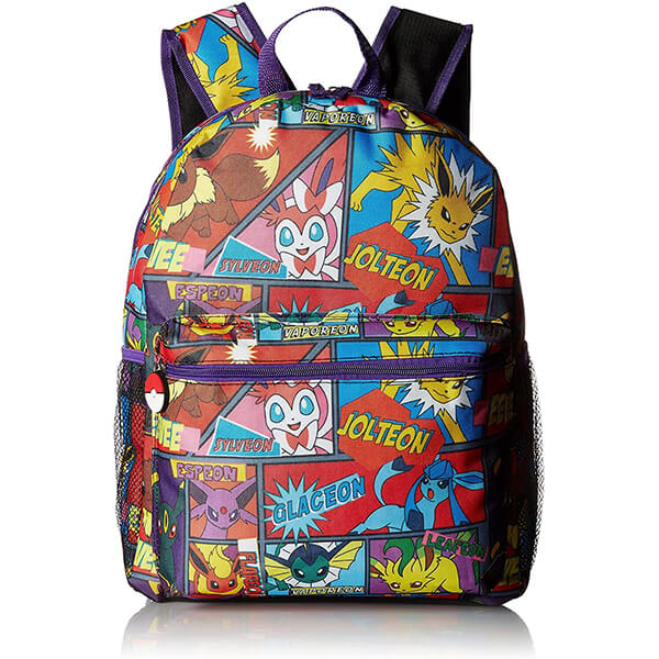 Pokemon Craze Multi Character Backpack