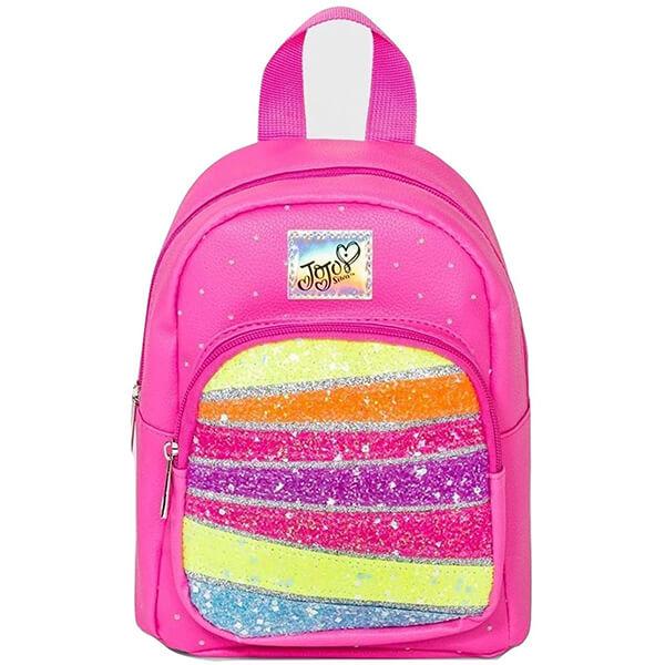 Rainbow Jojo Siwa Signature Mini Backpack
