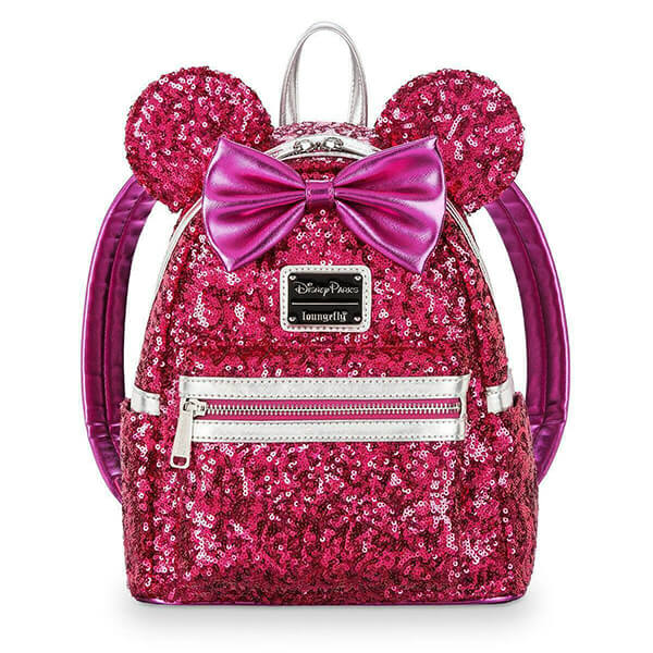 Sequin Minnie Mouse Disneyland Mini Backpack