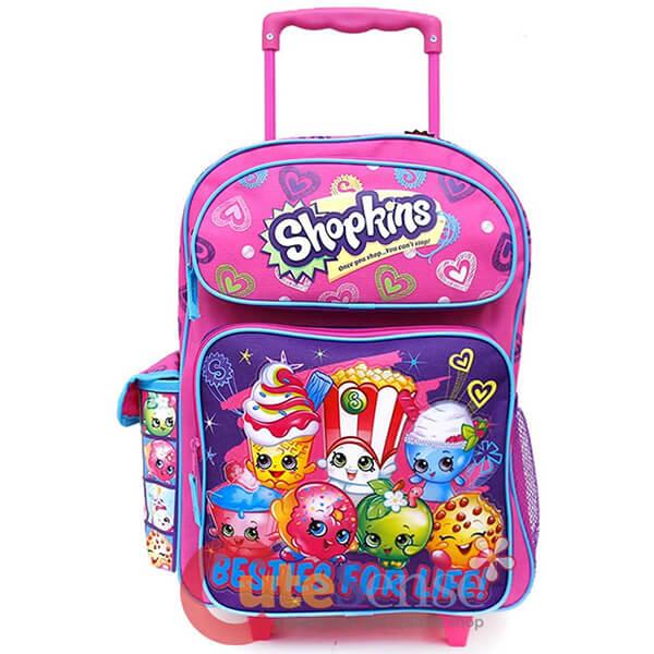 Shopkins Trolley Rolling Backpack