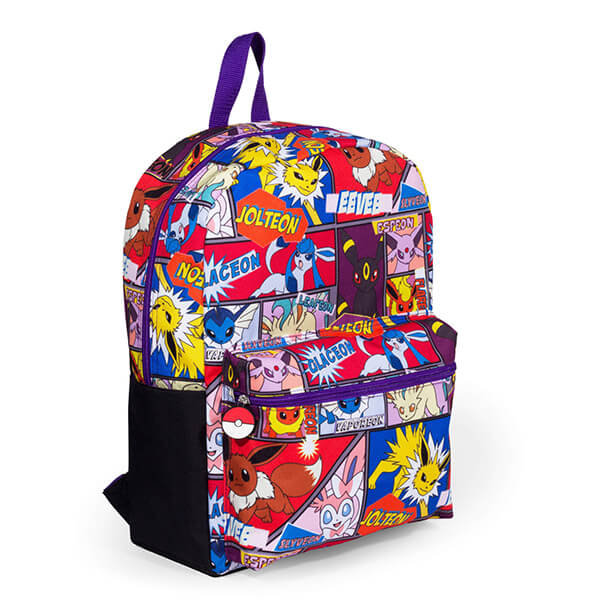Multi Character Comic Pokemon Backpack