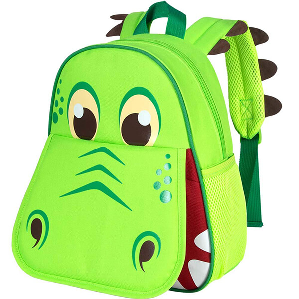 Adorable Open Mouth Dinosaur Backpack