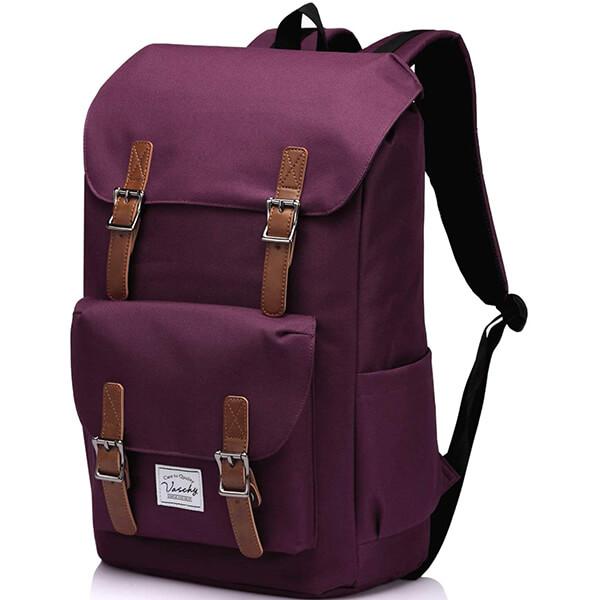 Busy College Student Spacious Waterproof Backpack
