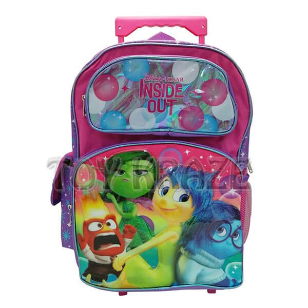 INSIDE OUT Balloons Shiny Roller Backpack