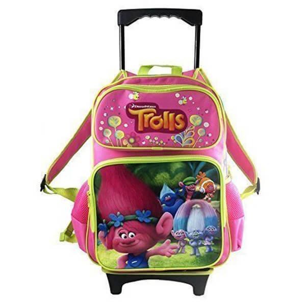 Trolls Poppy Kids Roller Backpack