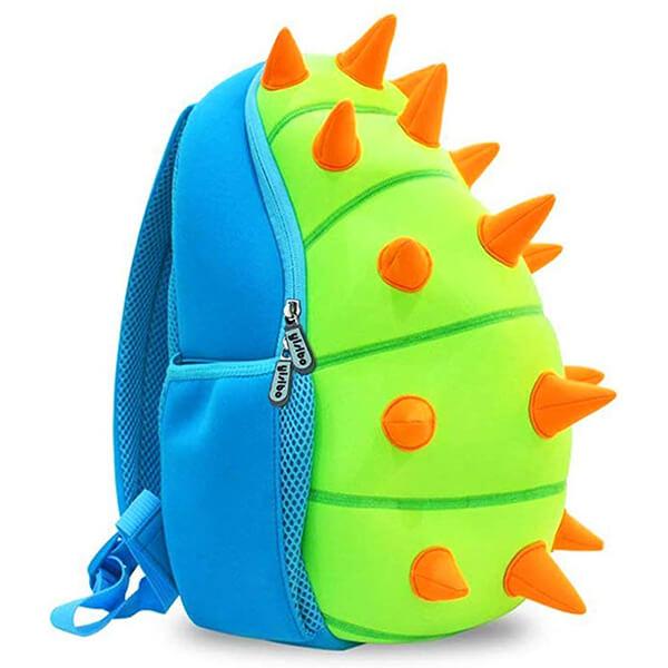 3D Dinosaur Back Spikes Toddler Backpack