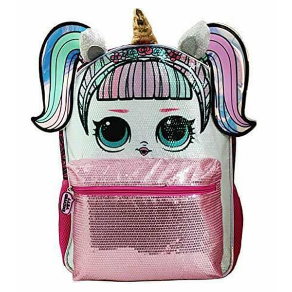 LOL Surprise! Large Unicorn Sequin Backpack