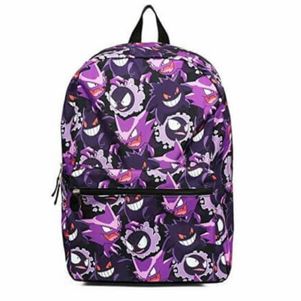 Pokemon Evolution Gengar Backpack