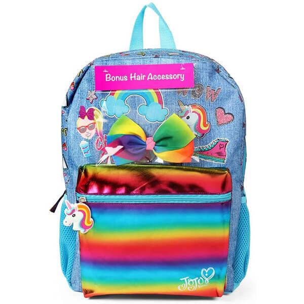 Cloud Rainbow Backpack with Bonus Hairbow