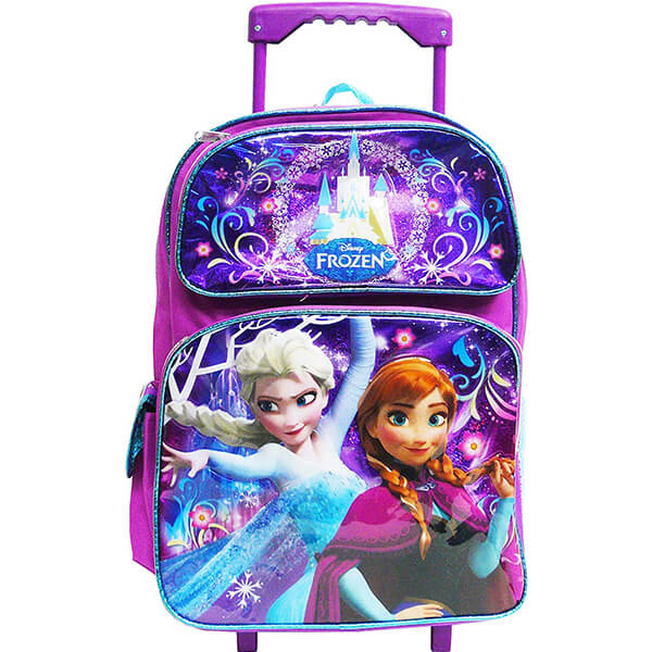 Frozen Elsa and Anna Kids Roller Backpack
