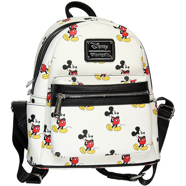 Mickey Mouse Disney Leather Mini Backpack