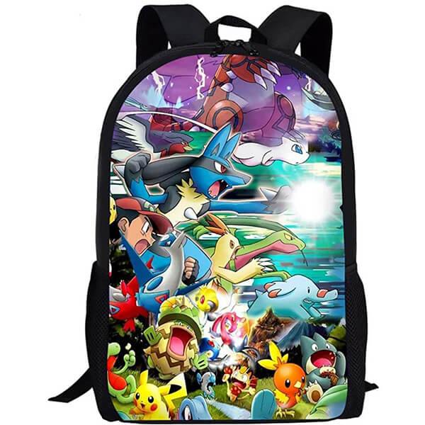 Rainbow Color Magic Pokemon Backpack