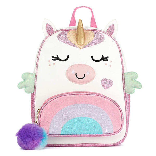 Decorative Girls Unicorn Backpack for School