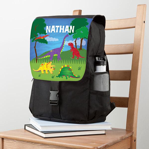 Nathan's Dinosaur Park School Backpack