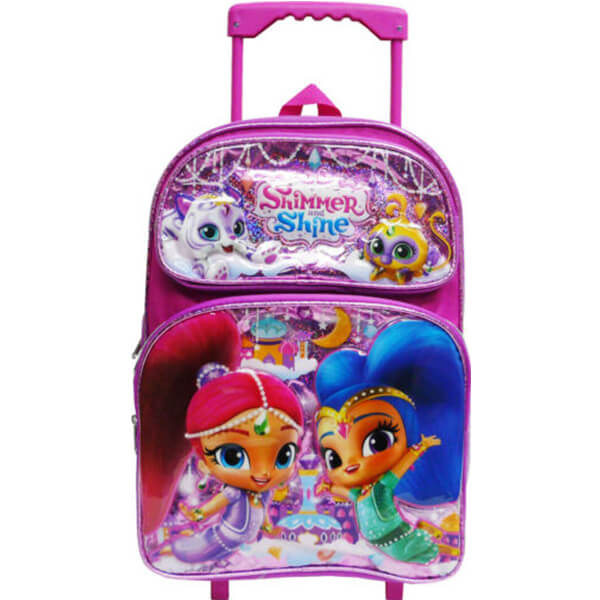 Shimmer and Shine Rolling School Backpack