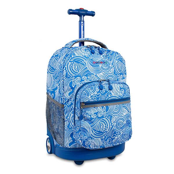 Azure Kids Rolling Backpack