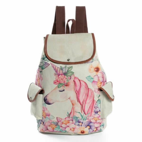 Elegant Girls Unicorn Backpack