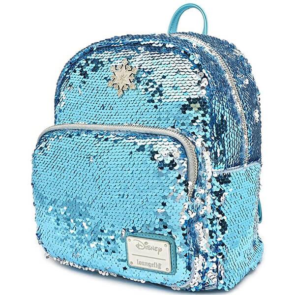 Frozen Reversible Sequin Disneyland Mini Backpack