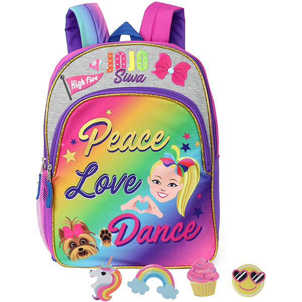 High-Five Backpack with Jojo and Bowbow