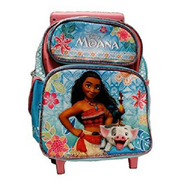 Moana and Pua Kids Rolling Backpack
