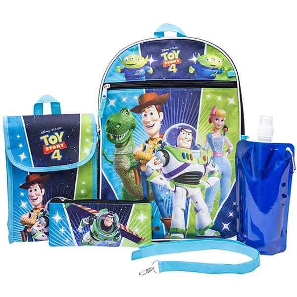 Toy Story 4 Woody and Buzz Lightyear Backpack with Lunchbox