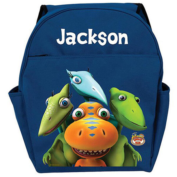 Train Team Personalized Dinosaur Backpack
