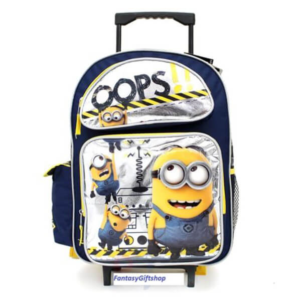 Despicable Me Oops! Minion Roller Backpack