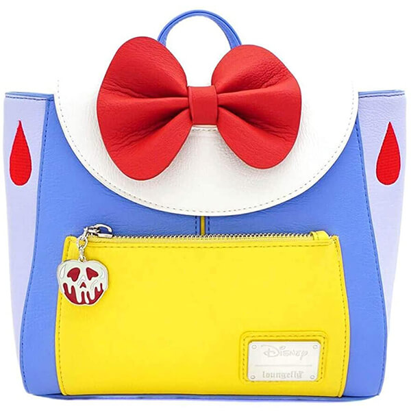 Snow White Cosplay Leather Mini Backpack