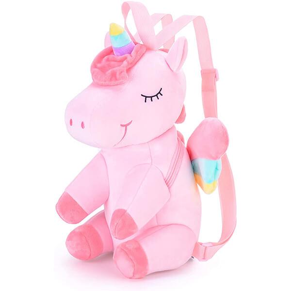 Super Soft Plush Toy Unicorn Backpack
