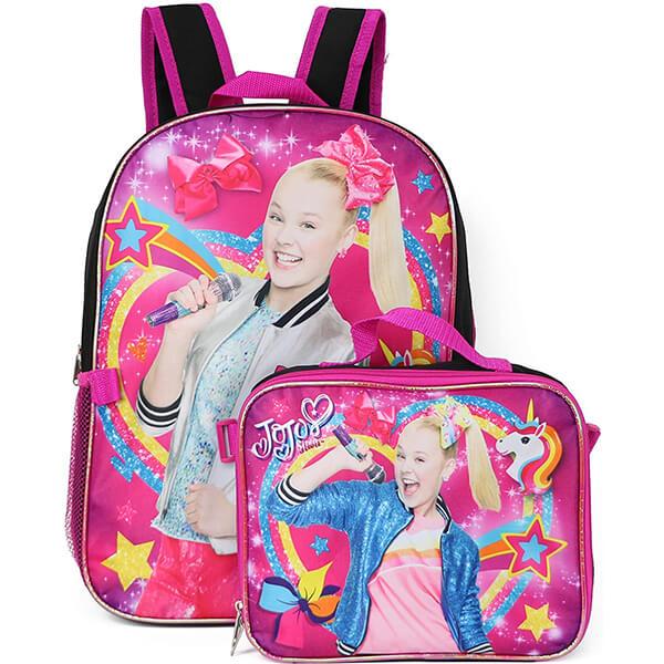 Love Rainbow Jojo Siwa Backpack and Lunchbox