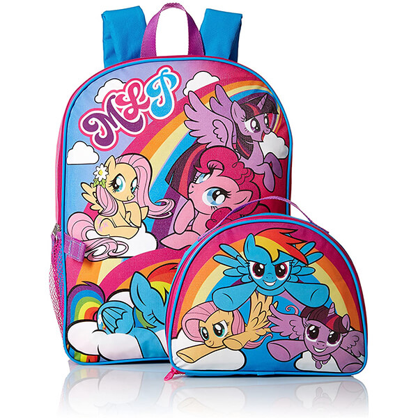 MLP Backpack and Lunchbox