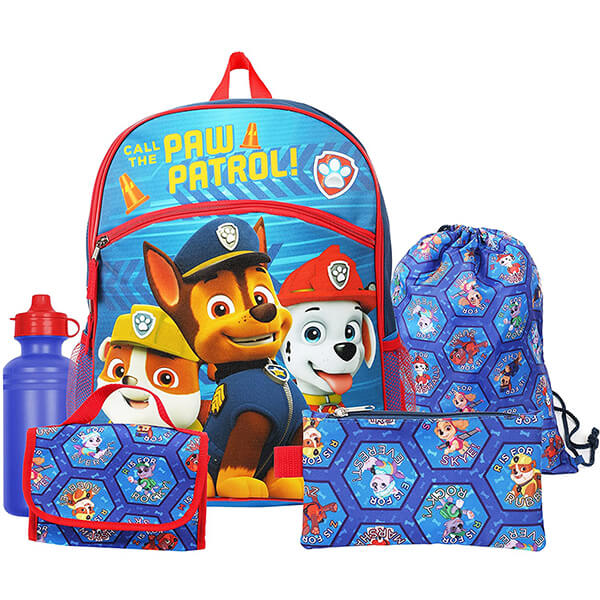 Nickelodeon Paw Patrol Backpack Back and lunchbox set