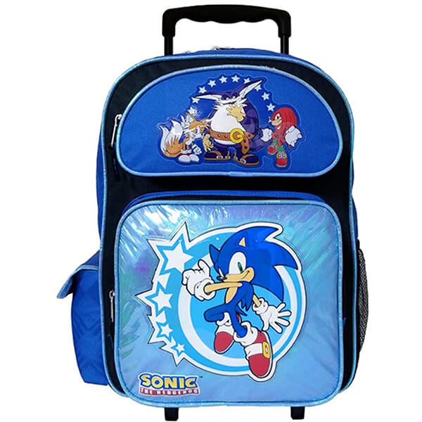 Sonic Hedgehog Kids Roller Backpack
