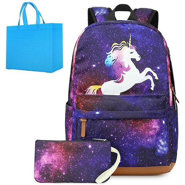 Galaxy Starry Sky Ultra Lightweight Unicorn Backpack