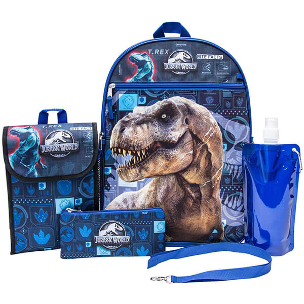 Indominus Rex Dinosaur Backpack and Lunch Kit