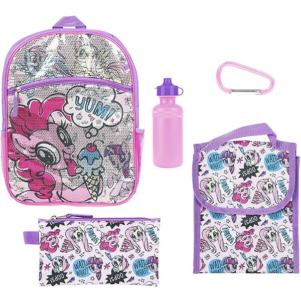 Purple Multi-pony and Lunchbox