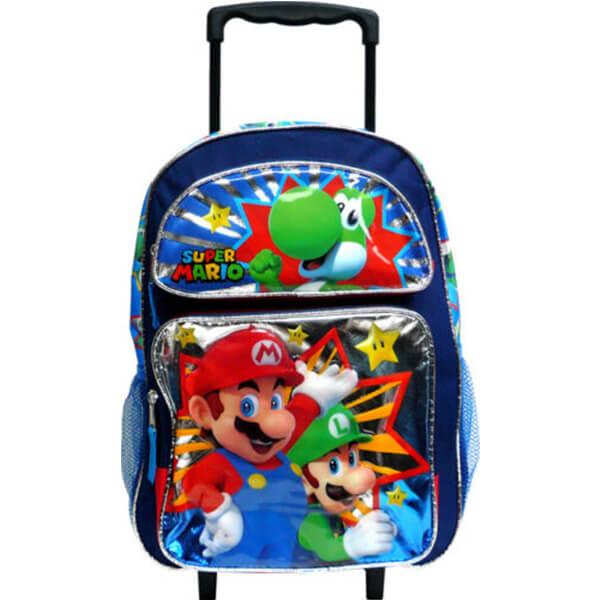 Super Mario Rolling School Backpack