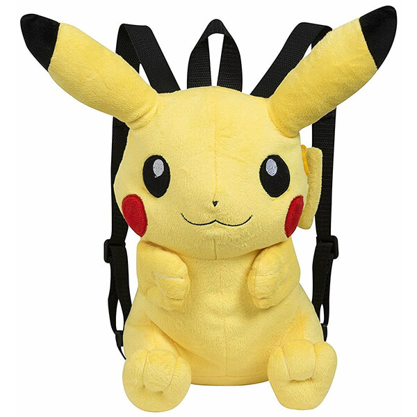3D Pikachu Backpack