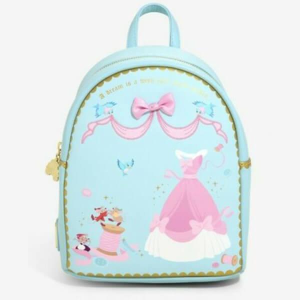 Cinderella's Dress Sewing Disney Mini Backpack
