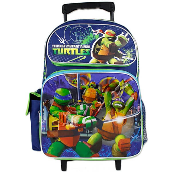 Ninja Turtles Teenage Mutant Roller Backpack
