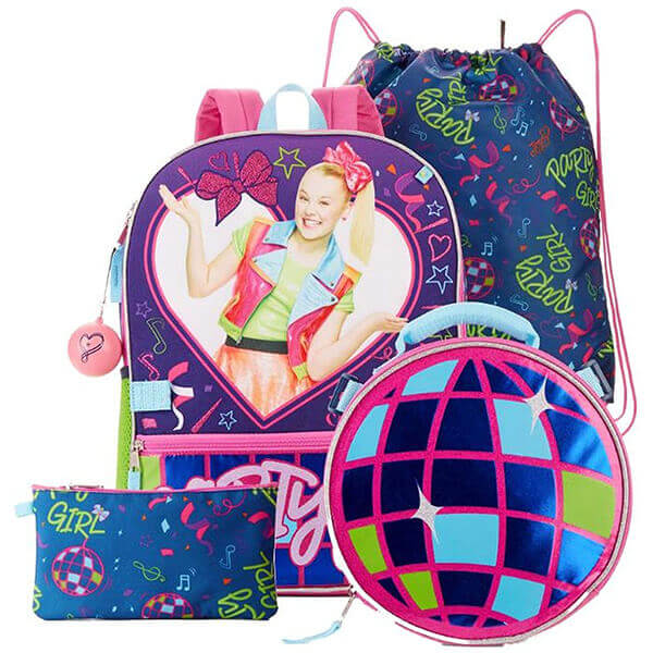 Party JoJo Siwa Backpack and Lunch Kit