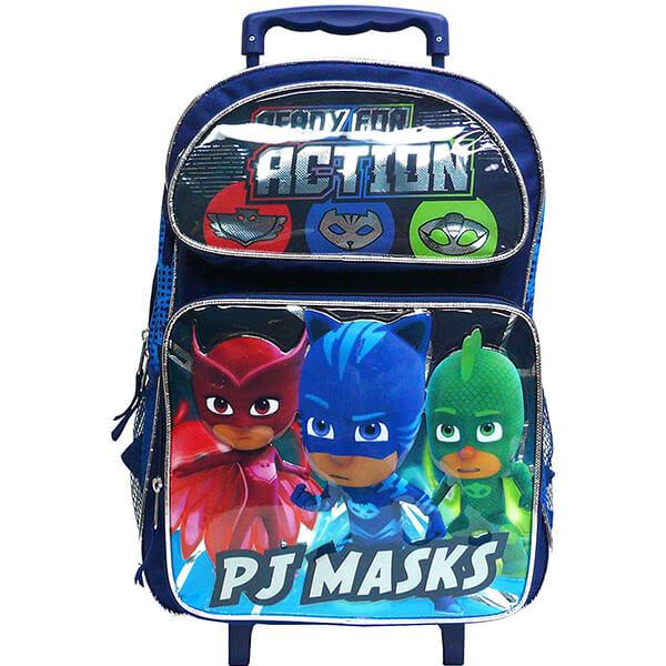 PJ Masks Kids Rolling Backpack