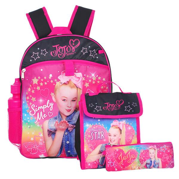 Simply Me Jojo Siwa 5pc Backpack