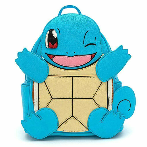 Squirtle Pokemon Backpack