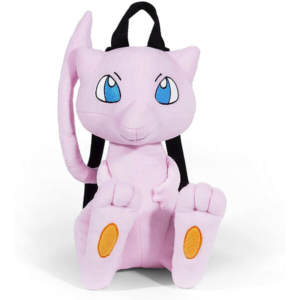 Mew Pokemon Plush Backpack