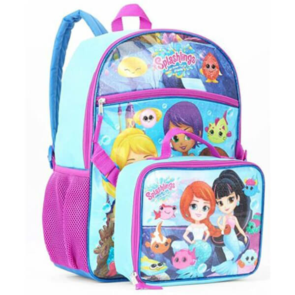 Splashlings Backpack and Lunchbox Set