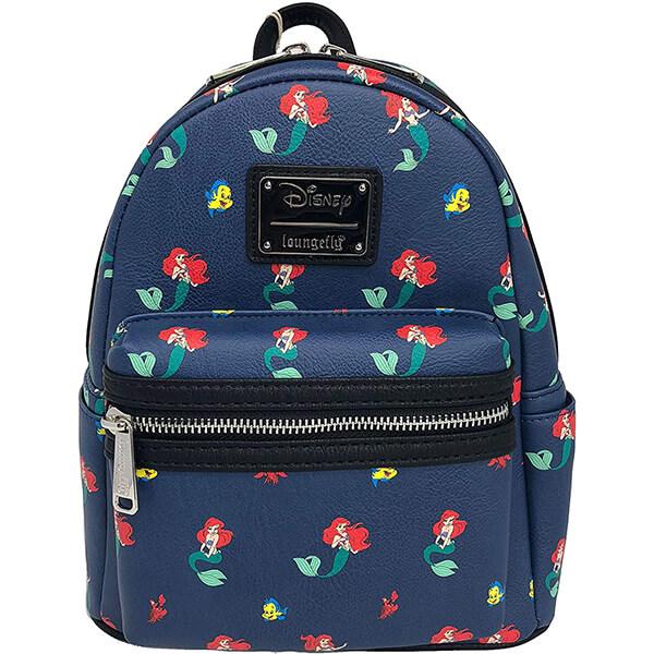 Ariel Flounder Sebastian Disneyland Mini Backpack
