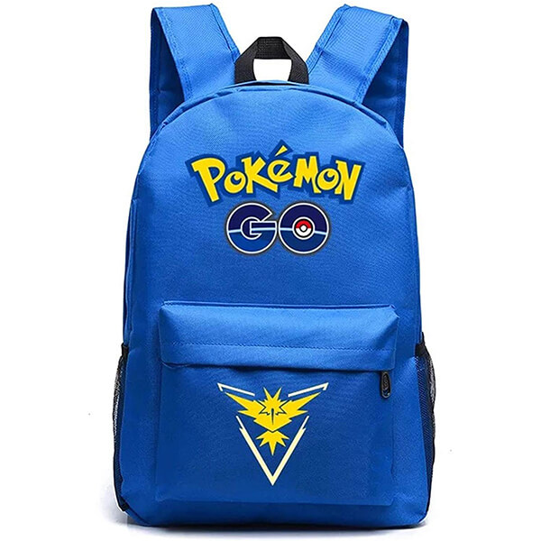 Blue Team Instinct Pokemon Backpack