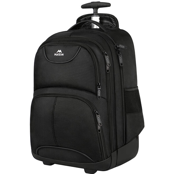 Compact Waterproof Rolling Backpack